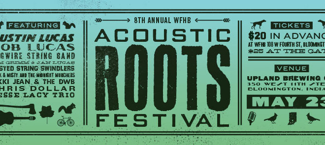 Acoustic Roots Festival – May 23 – Tickets now available online!