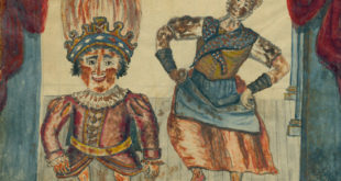 Dwarf Dance, John Durang, watercolor from his Memoir. Courtesy of the York County History Center