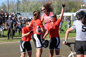 Theta Riders Celebrate their win on April 25th, 2014