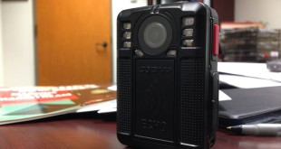 One of Monroe County's new body cameras.