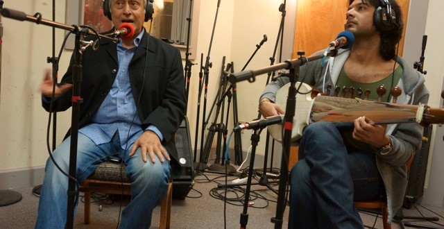 In-studio: Amjad Ali Khan and Ayaan Khan – Live Performance