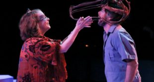 Photo Courtesy of the IU Department of Theatre, Drama, and Contemporary Dance. Jenny McKnight and David Kortemeier appear courtesy of Actors' Equity Association