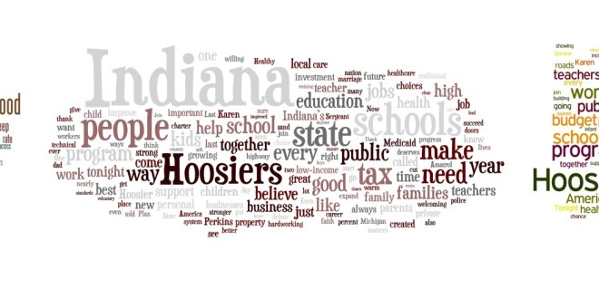 Schools, Schools, Schools – a look at the language of the State of the State Address
