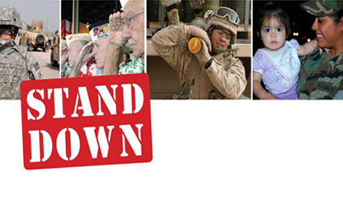 VA Stand Down full logo pic