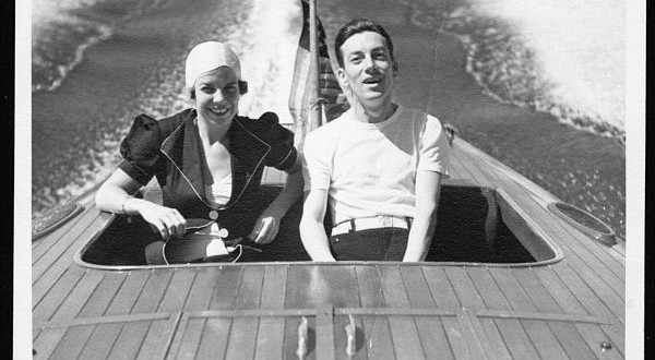 Hoagy Carmichael and Ruth Carmichael.