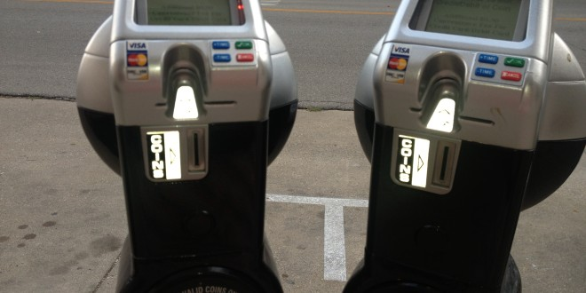 Monroe County Library Suffering From Paying Parking Meters