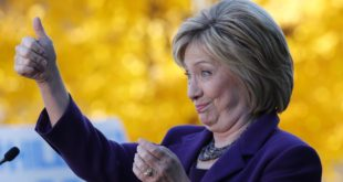 thumbs up HRC